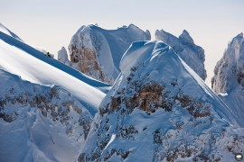 King of Dolomites 2014 - Pro: 1° Pietro Celesia, Daniel Perathoner, Massimo Chicco Photo by © King of Dolomites 2014