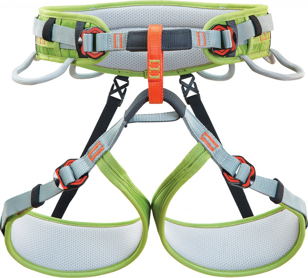 Ascent climbing harness