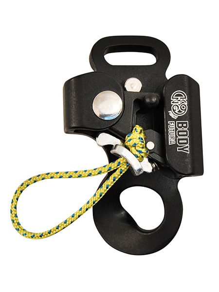 Futura Body climbing caving chest rope clamp