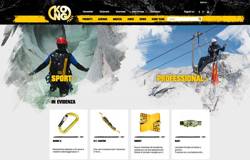 Kong spa, online il nuovo sito: uno strumento completo e strategico per rivenditori, agenti e clienti
