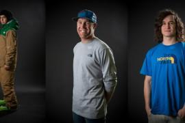 The North Face presenta tre new entry nel suo team di atleti in occasione del Freeride World Tour