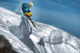 Salewa Climb to Ski Camp 2013: Climb to ski a Chamonix featuring Glen Plake