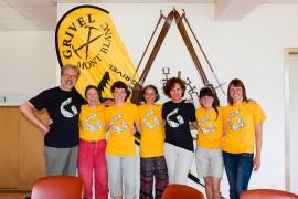 Progetto donne e montagna: le alpiniste valdostane e russe in visita alla Grivel