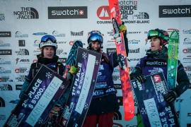 Markus Eder allo Swatch Freeride World Tour by The North Face