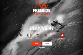 The North Face presenta Freeride Manager App