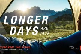 The North Face® festeggia l'arrivo delle giornate più lunghe e ti invita a esplorare di più