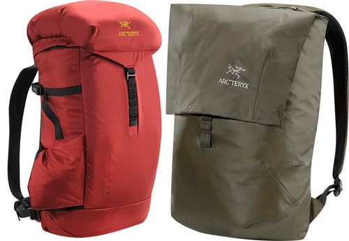 Arc'teryx backpacks: pursue the perfect day