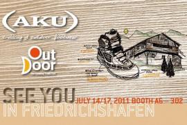 Aku alla fiera OutDoor 2011 a Friedrichshafen