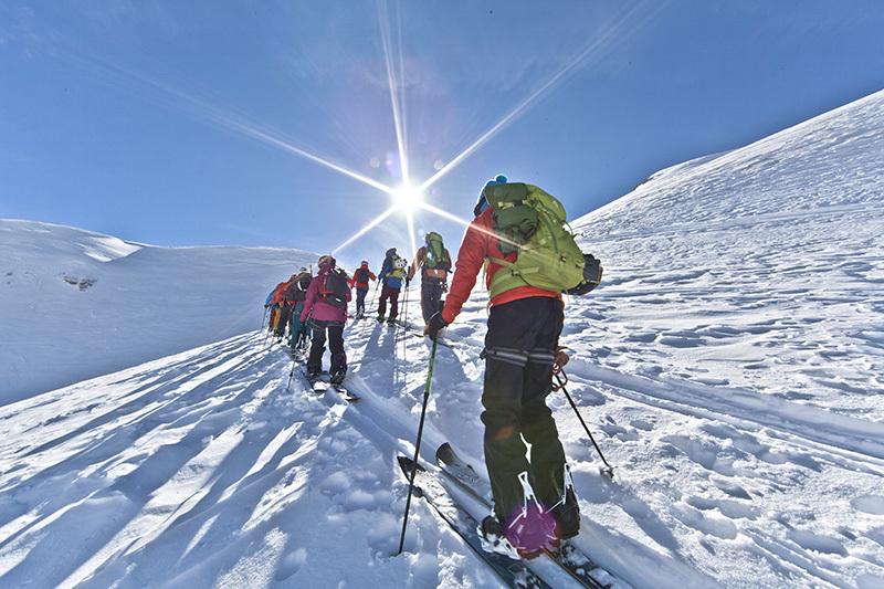 SALEWA Climb To Ski Camp con tre grandi campioni