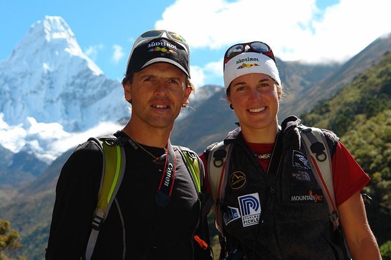 Simone Moro e Tamara Lunger