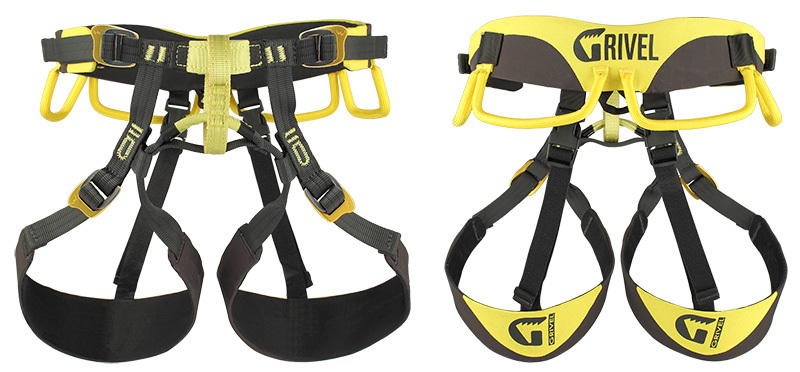 Ares by Grivel is a new interpretation of the alpine climbing harness.