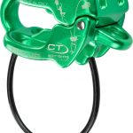 Assicuratore discensore Be Up di Climbing Technology Green