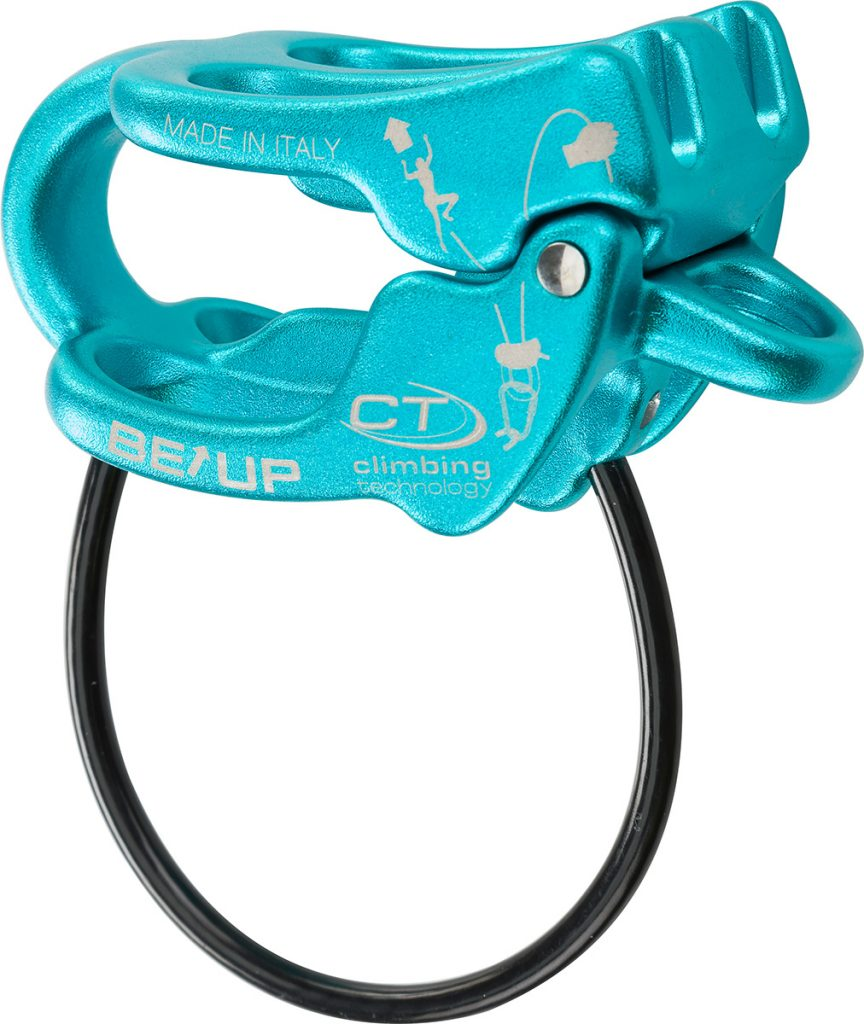 Be Up Multiuse belay device for belaying and abseiling by Climbing Technology