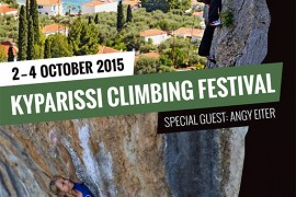 Kyparissi Climbing Festival in Greece