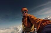 Tom Ballard in cima all' Eiger