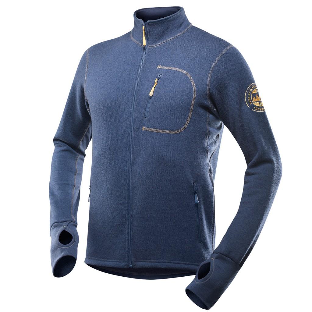 Devold Thermo, una giacca in lana merino