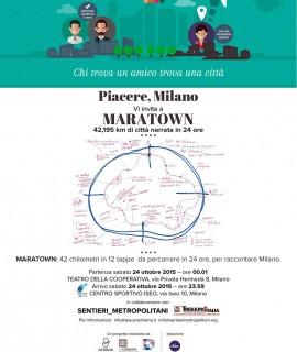 Maratown 2015 a Milano