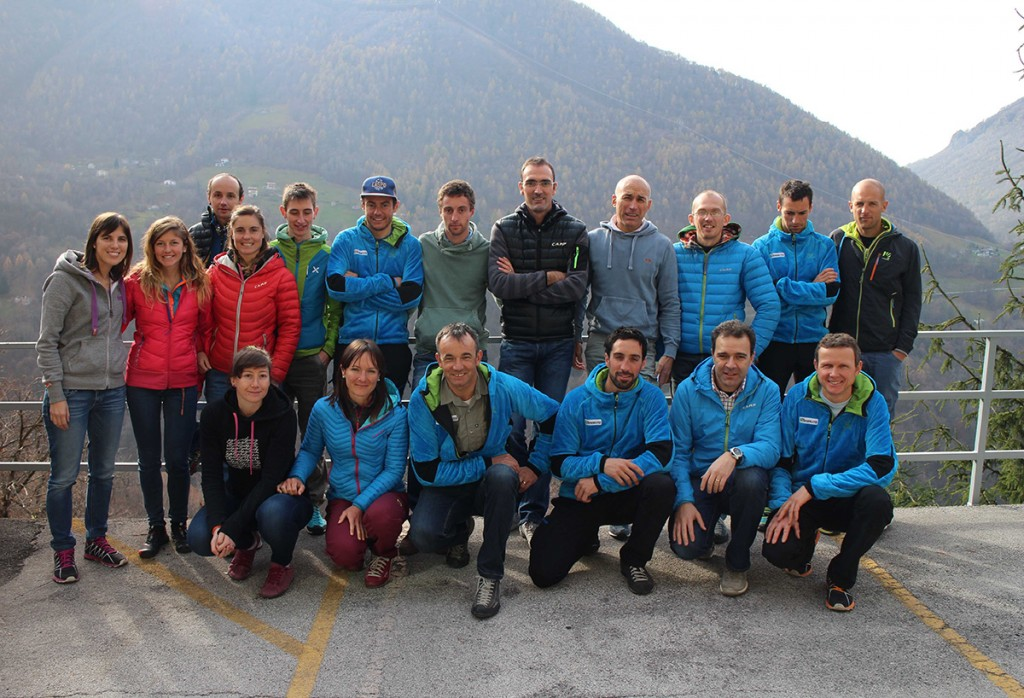 CAMP ski mountaineering athletes visited the headquarter in Premana