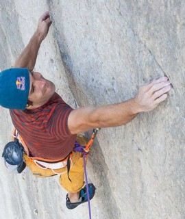 Chris Sharma travels back to the future in Mouriès, France