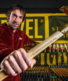 Hervé Barmasse, membro del team Grivel © Lorenzo Belfrond