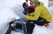 Avviati a Cervinia i test medico-scientificiper studiare la respirazione in caso di seppellimento in valanga