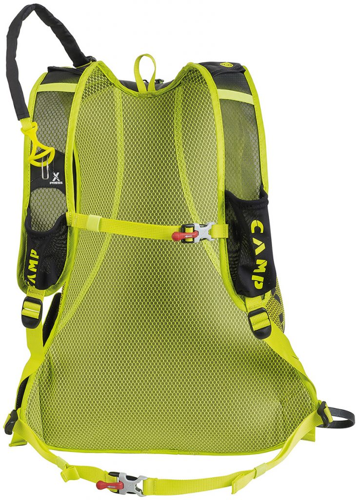 Rapid is robust, lightweight ski mountaineering rucksack for skialp competitions or everyday use when skiing in the mountains.