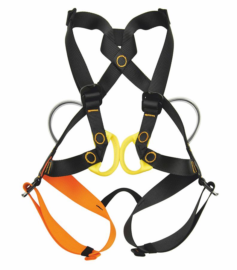 GoGo è la nuova imbragatura omologata EN 12277/B per bambini fino a 40 kg.