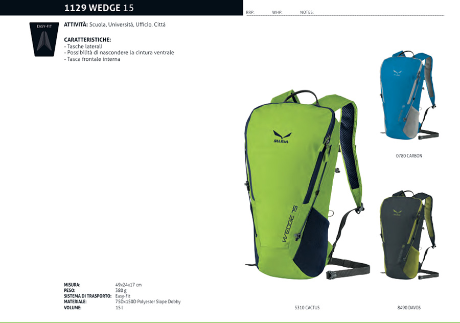 Wedge 15 mountain backpack