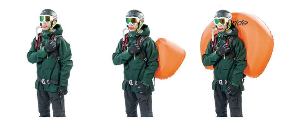 Full Safe 30 - Zaino Air Bag