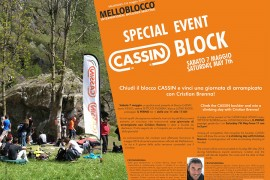Vieni al Melloblocco e gioca con CAMP!