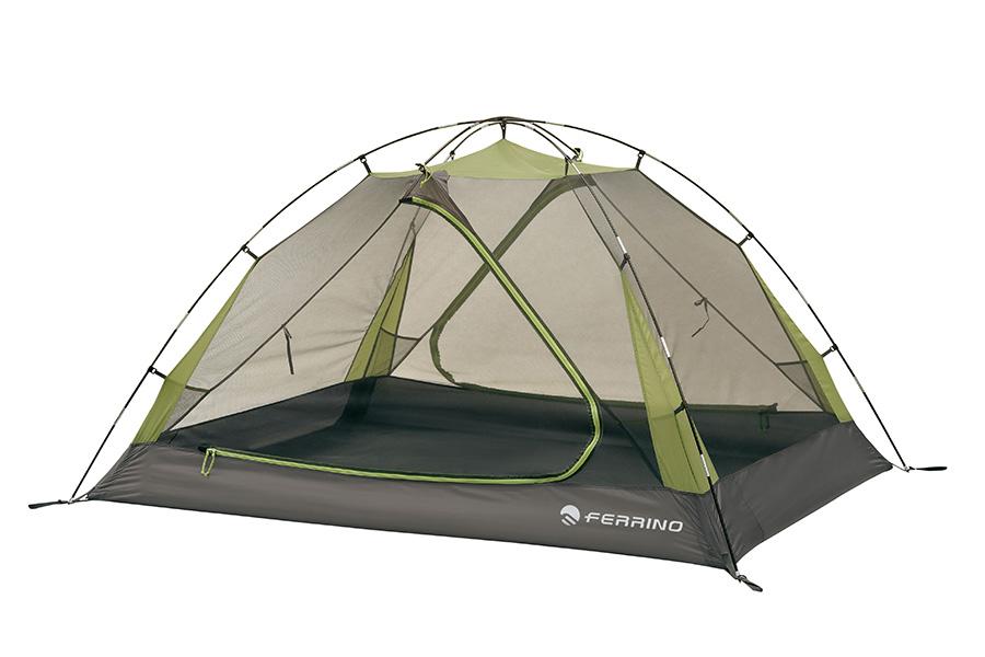 Gobi 3 - tenda 3 posti con caratteristiche di ottima abitabilità e areazione garantite dal doppio ingresso anteriore e posteriore con abside.