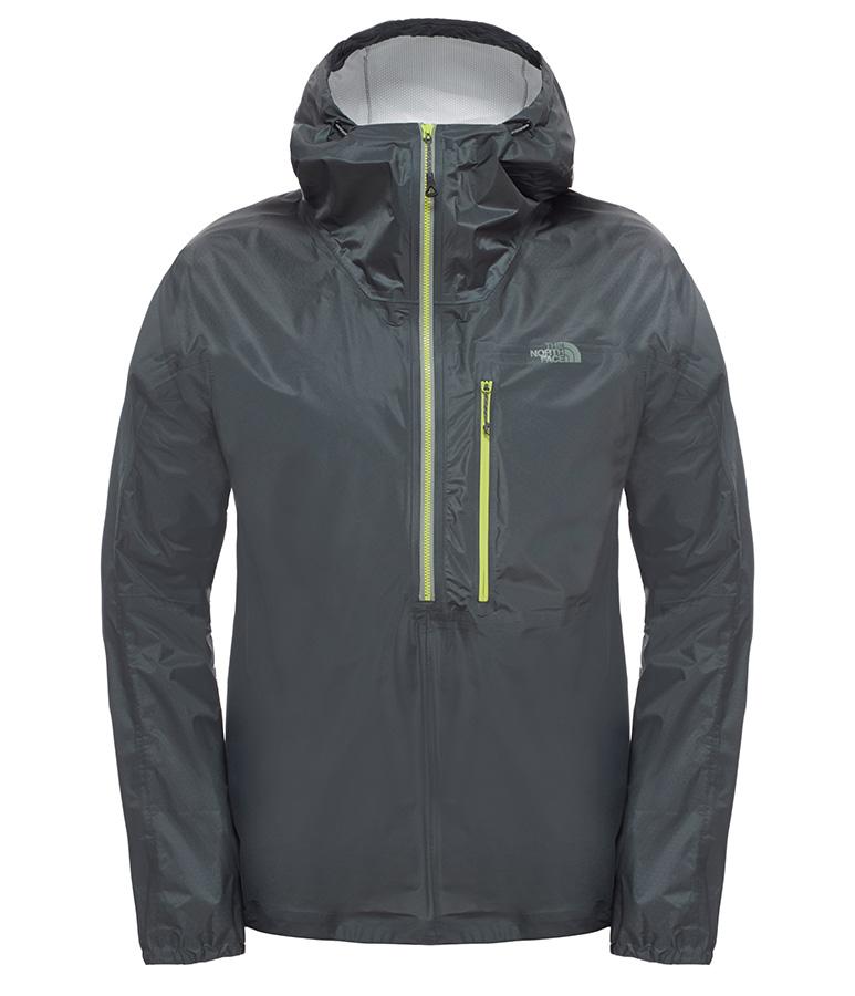 Fuseform Cesium Anorak - giacca minimalista superleggera incorpora la rivoluzionaria tecnologia FuseForm™ e garantisce una protezione impenetrabile dai peggiori acquazzoni