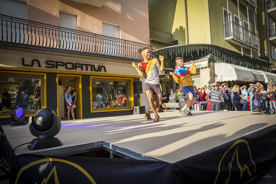La Sportiva Store a Cavalese (Valle di Fiemme, Dolomiti, Italia)