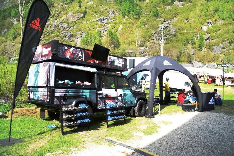 Quest'anno adidas sarà per la prima volta partner di Resegup, la gara di corsa in montagna unica nel suo genere per i paesaggi, il percorso e la suggestione dei luoghi.