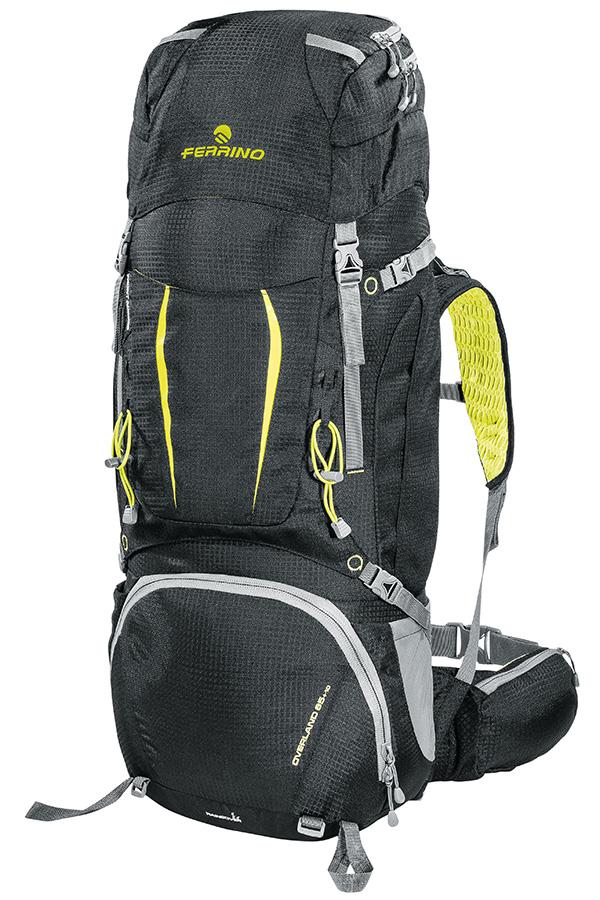 Overland 65 + 10 - Zaino completo di tutte le dotazioni adatto anche per trekking impegnativi di più giorni