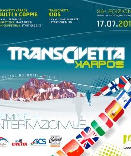 SCARPA® è sponsor della Transcivetta Karpos, la storica competizione di marcia di alta montagna a coppie, che si svolgerà domenica 17 luglio nel cuore delle Dolomiti, a Listolade in provincia di Belluno.