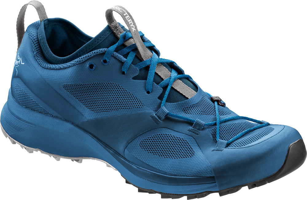 Arc'teryx enters the trail-running market with a shoe that delivers climbing and scrambling performance with high durability on steep, technical landscapes.