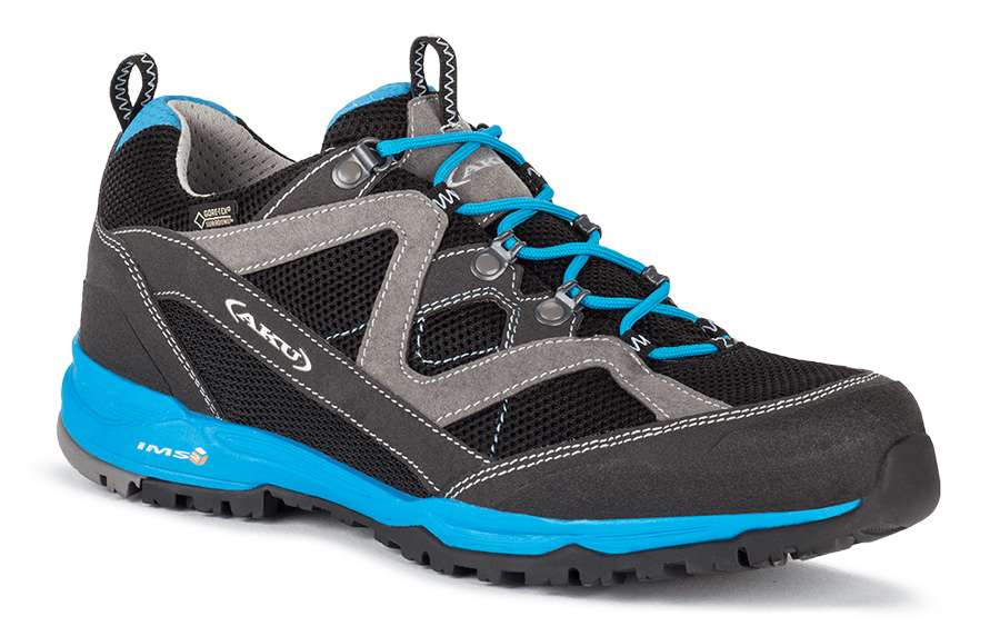 Mio surround GTX, a perfect mountain shoe for mid-mountain trails and for active outdoor activities with great comfort.