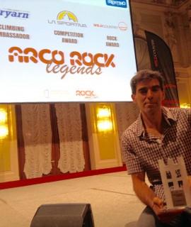 Ad Arco di Trento lo spagnolo Dani Andrada vince il Wild Country Rock Award 2016