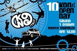 Sabato 1 ottobre 2016 a Monte Marenzo il 10 10° Kong Open Day.
