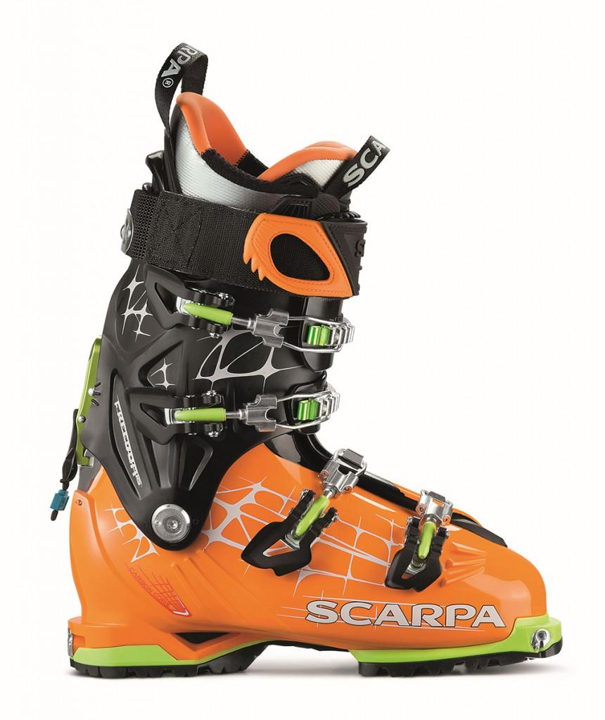 SCARPA® FREEDOM RS è lo scarpone ideale per il fuoripista impegnativo e lo sci ripido.