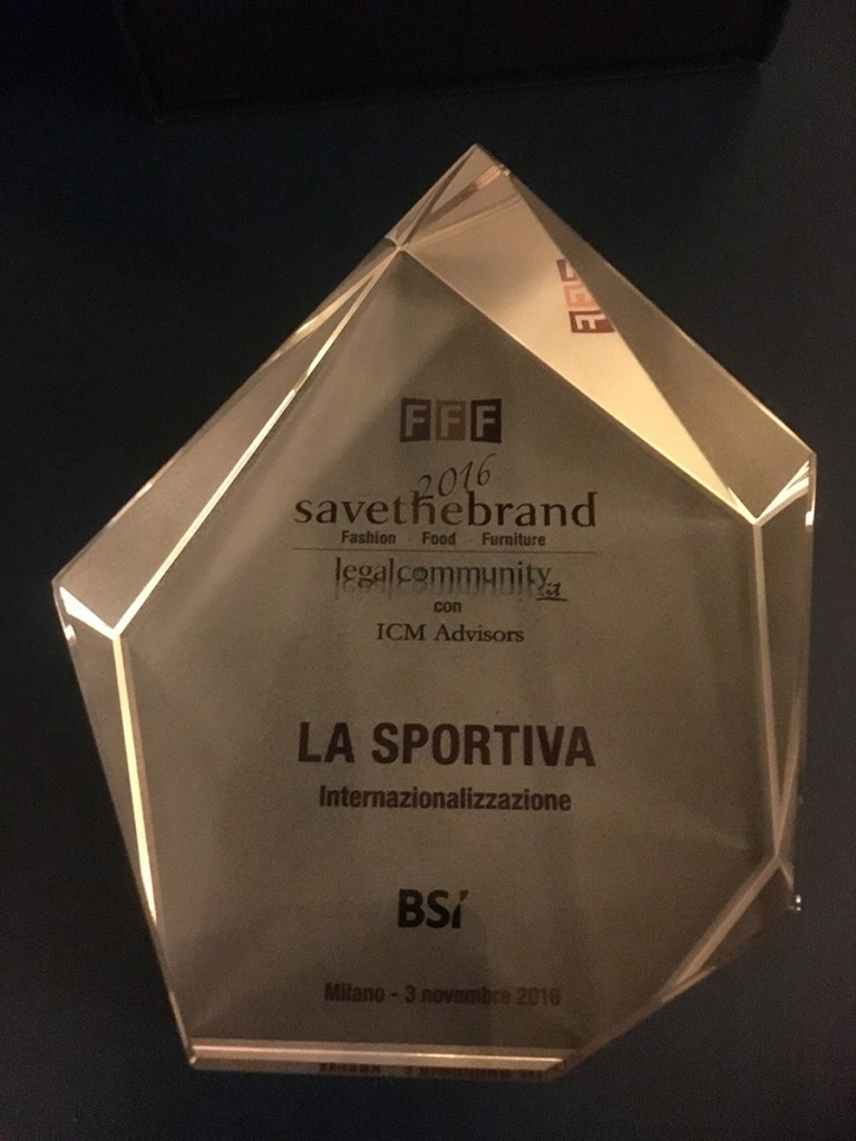 The brand from Ziano di Fiemme (Dolomites), world leader in the outdoor footwear and clothing sector has received the prize for internationalization for the second consecutive year.