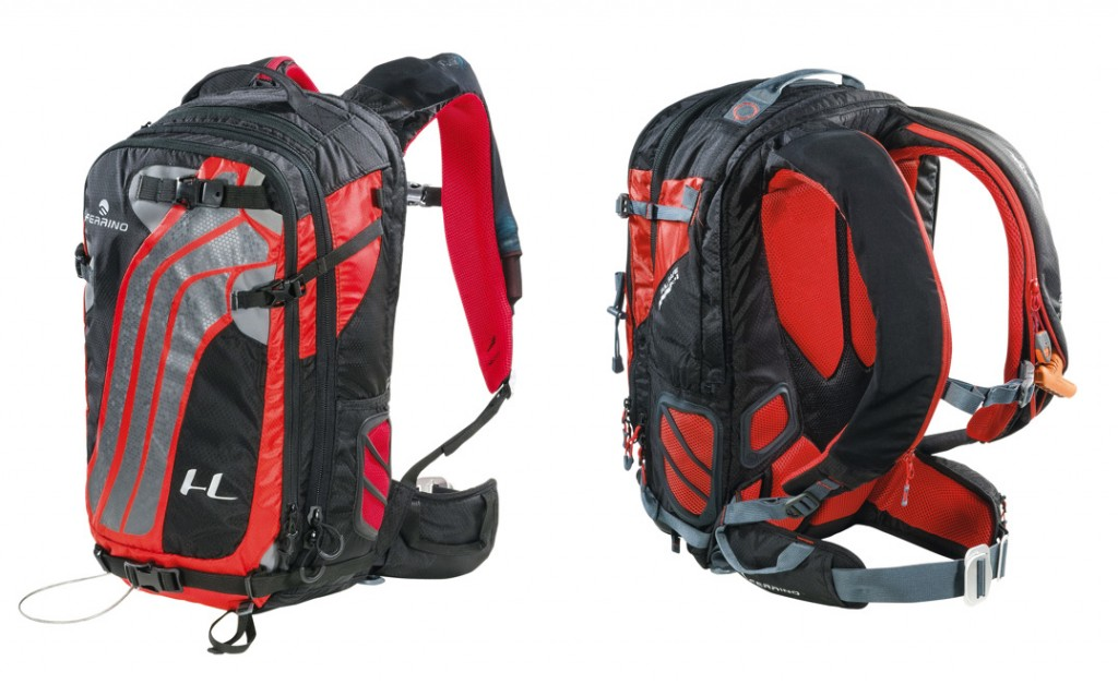 Ferrino SAFE 30: backpack with a 30-liter capacity for winter use with integrated ALPRIDE Airbag system and RECCO reflector