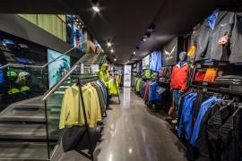 Ill nuovo negozio Salewa Store a Cortina © Juriba