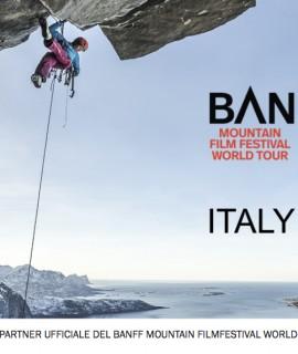 Ferrino partner ufficiale del Banff Mountain Film Festival World Tour Italy