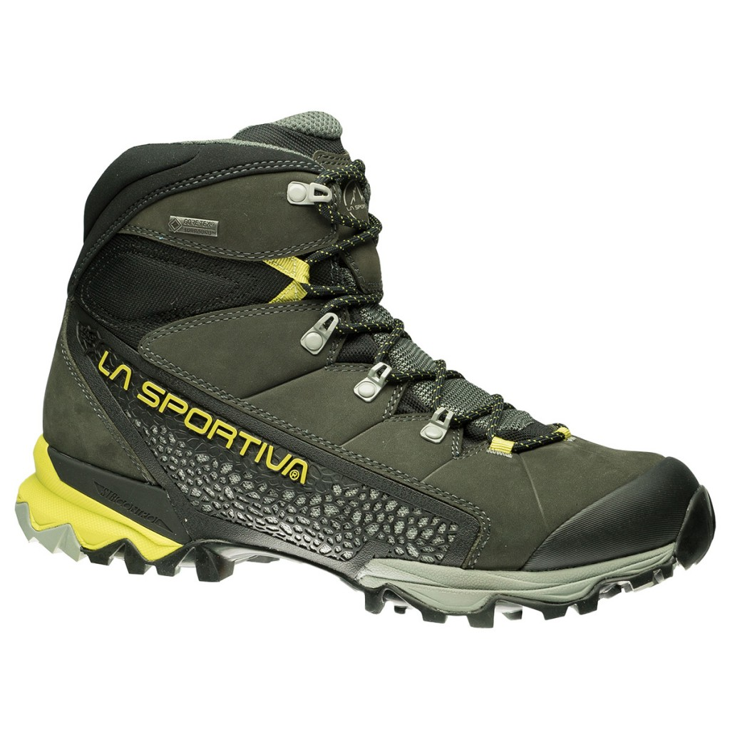 La Sportiva Nucleo GTX Surround is a hiking boot for fast walking