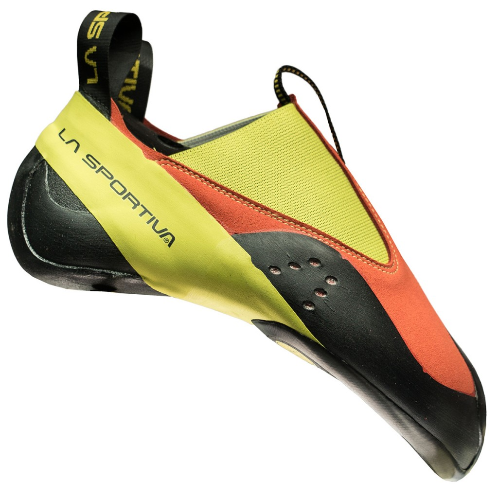 La Sportiva Maverink, a climbing shoe with No-Edge® technology.