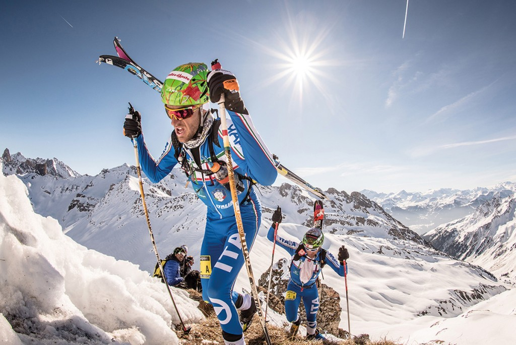 on 22 February 2017 the Ski-mountaineering World Championships start in the Alpago-Piancavallo mountains, Italy