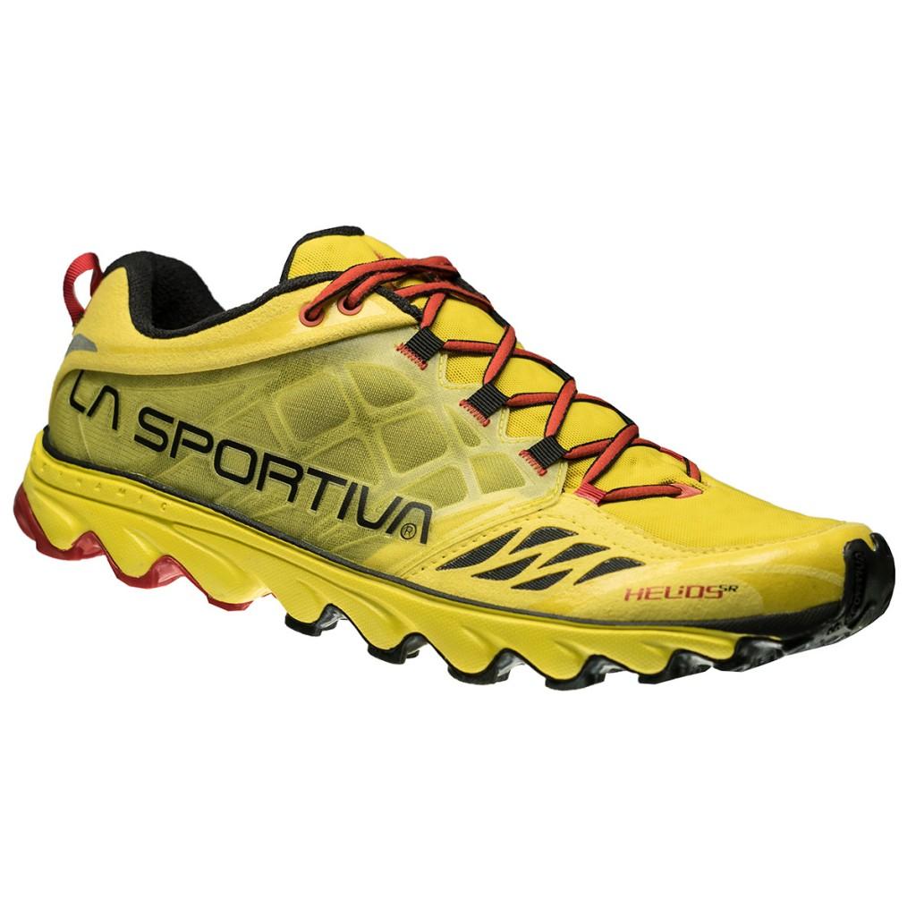 La Sportiva Helios SR, calzatura leggera e minimalista dedicata al mondo delle sky races ed alle competizioni verticali