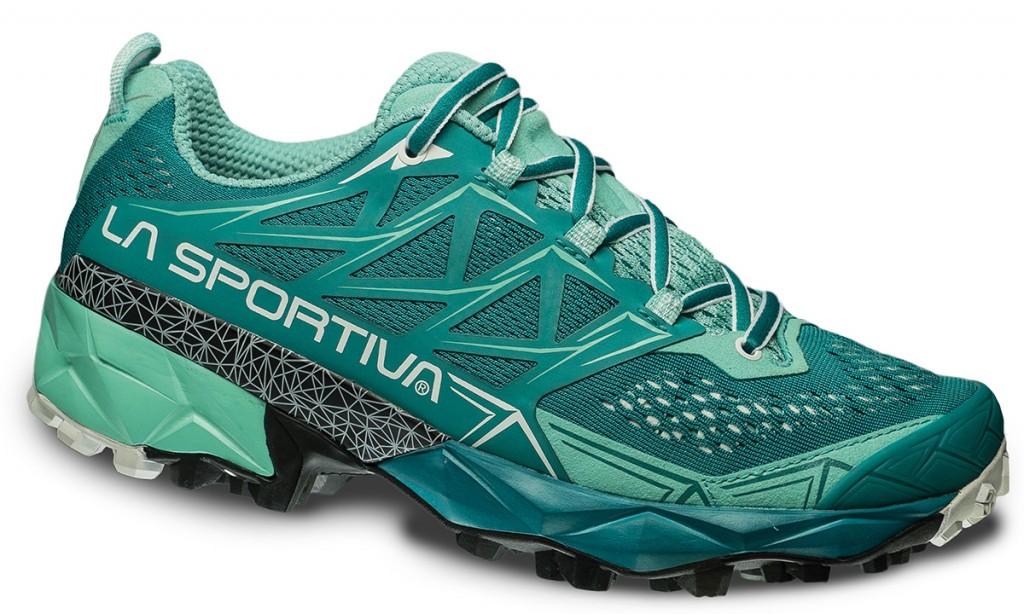 La Sportiva Akyra – Calzatura da mountain running strutturata e protettiva adatta a percorsi endurance quali Ultra Trails ed Ultra Marathons.